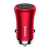 АЗУ BASEUS Gentleman 4.8A Dual-USB Red
