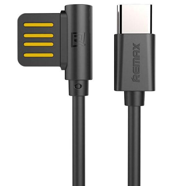 Кабель REMAX Rayen RC-075a USB Cable Type-C Black (1m)