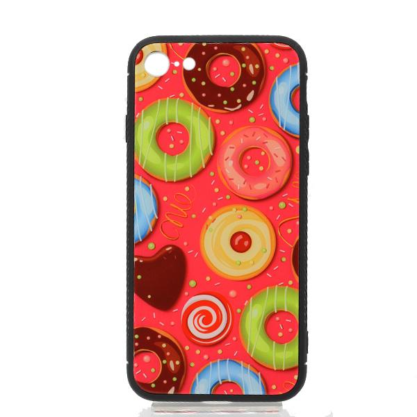 Чехол Glass+TPU Glass Case My Style New iPhone 7/8