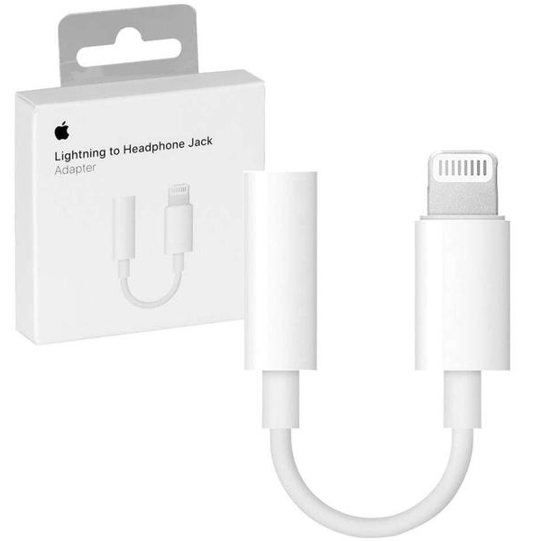 Apple Lightning to 3.5 mm Headphone Jack Adapter for iPhone7/8 (retail box)