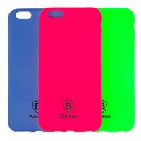 Силиконовая накладка Baseus Soft Colorit Case for iPhone 6/6S