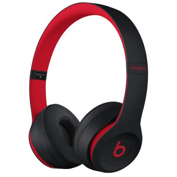 Наушники Beats Solo 3 Wireless Defiant Black-Red (MRQC2ZM/A)