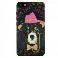 Силиконовый чехол Inavi GALLERY iPhone 5/5S/SE Собака