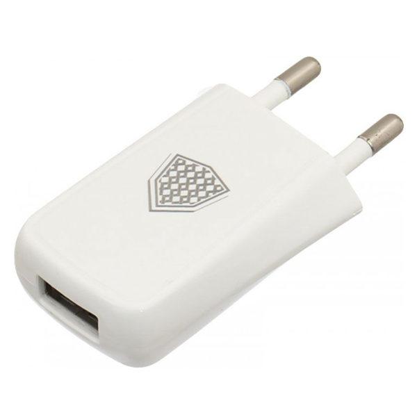 Сетевое зарядное устройство INKAX CD-07 Travel charger 1USB 1A White
