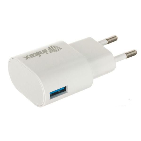 Сетевое зарядное устройство Inkax CD-08 СЗУ+Lightning USB 1A