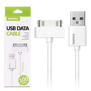 Кабель Remax Fast Charging for iPhone4 2,1A/1m White