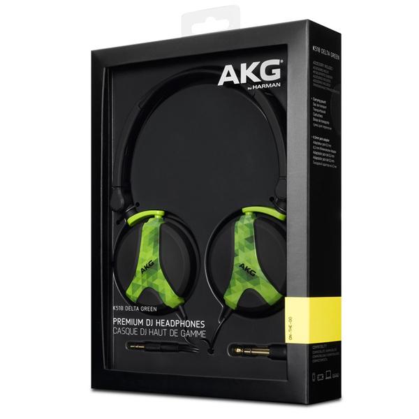 НАУШНИКИ AKG K518 Delta Green