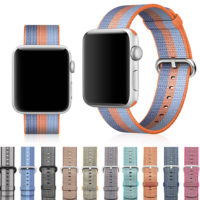 Ремешок Apple watch 38mm Woven Nylon (mixed color)