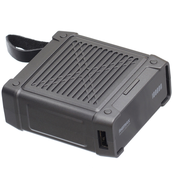 Power Bank Remax Armory Series 10 000 mAh RPP-79 (Original Sony battery) Black