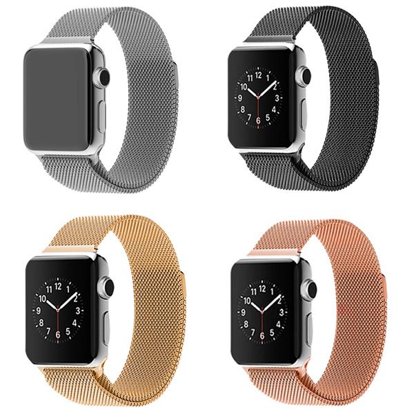 Ремешок Apple watch 38mm Milanese Loop Metal
