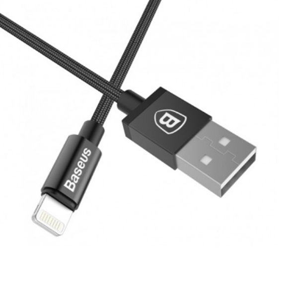 Baseus Simple Version of AntiLa MFI for Lightning to USB Cable (1.0 m) 2.1A Black