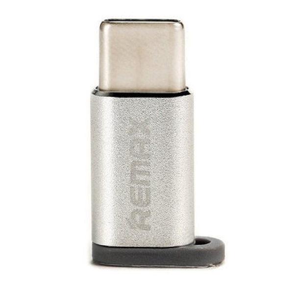 Переходник REMAX Micro -Type-C RA-USB1 Silver