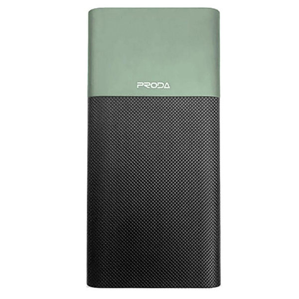 Power Bank Proda Biaphone series PPP-28 10000 mAh Black-Green