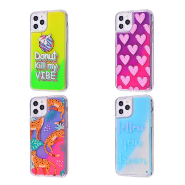 Чехол Lovely Stream Neon iPhone 11