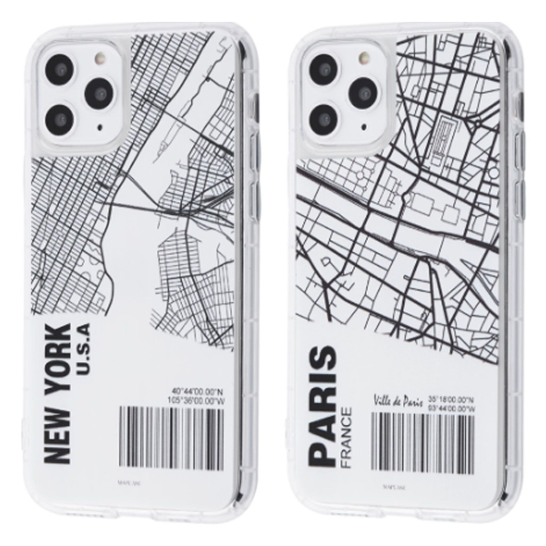 Чехол TPU Maps City Case iPhone 11
