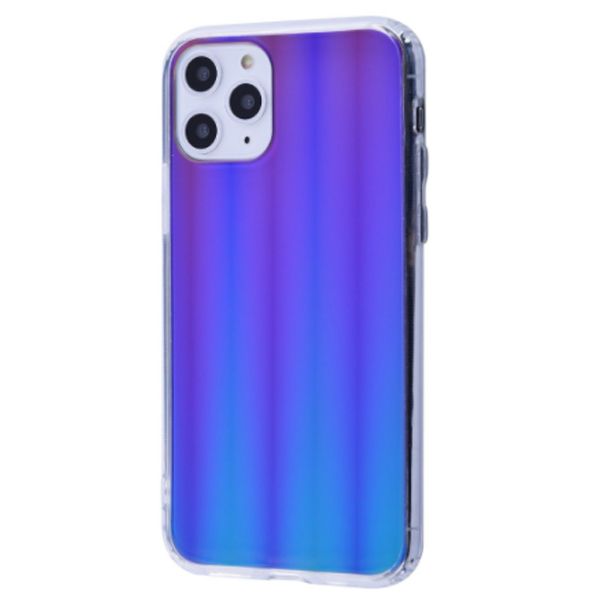Чехол Gradient Mirror Case Electroplate PC+TPU iPhone 11