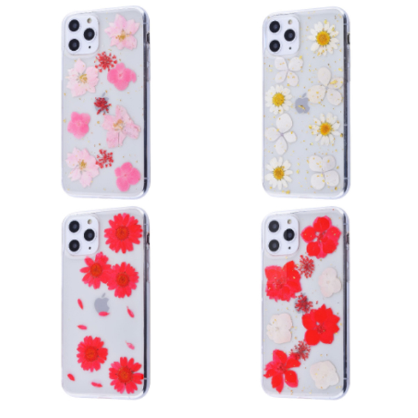 Чехол Nature Flowers TPU Silicone Case iPhone 11