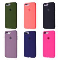 Чехол Silicone Case Full Cover iPhone 7 Plus 8 Plus