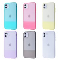 Чехол Silicone Case Shadow Slim iPhone 11