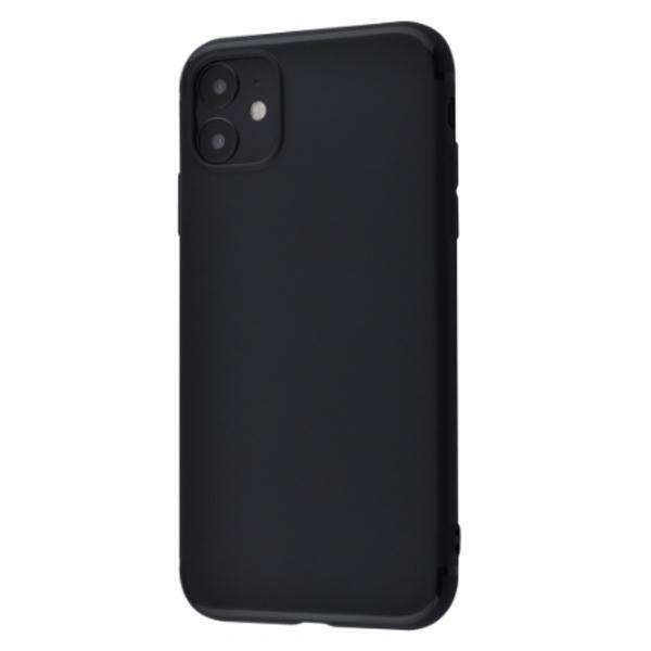 Силикон 0.5 mm Black Matt iPhone 11