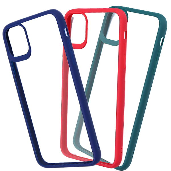 TPU Colored Edge Case for iPhone 11